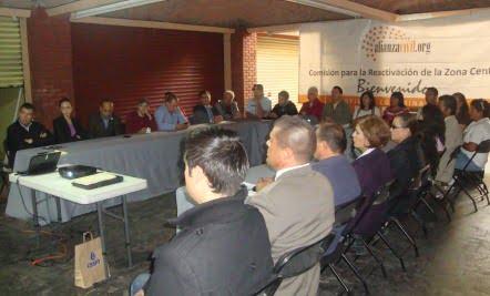 Jornada Interinstitucional, Noviembre 2012
