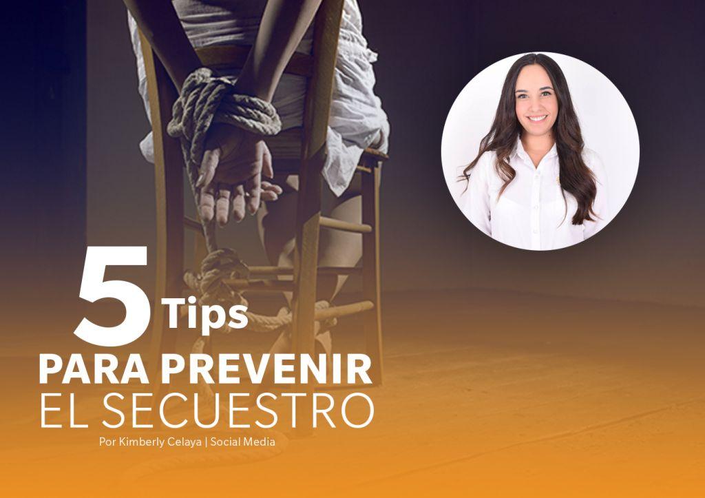 5 tips para prevenir el secuestro.