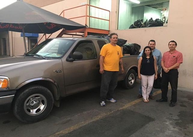 Entrega Alianza Civil de 2 toneladas de ropa a centros de rehabilitación