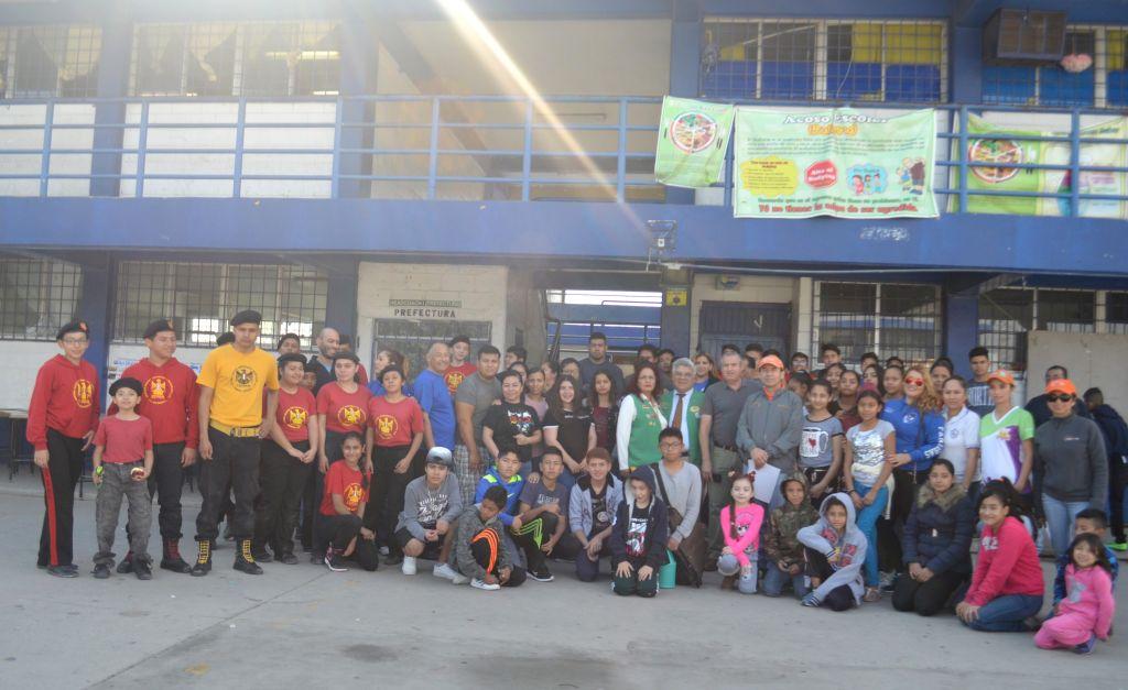 Jornada Comunitaria en Escuela Secundaria no.19