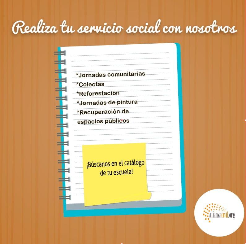 Realiza tu servicio social con nosotros