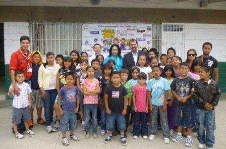 1a Evaluación Campamentos de valores, con la visita de Lic. Javier Santillán, Secretario de Educación.