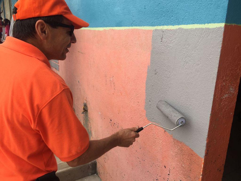 Pintura en Primaria Gran Tenochtitlan